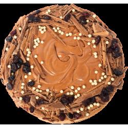 Ciasto migdałowe z żurawiną...